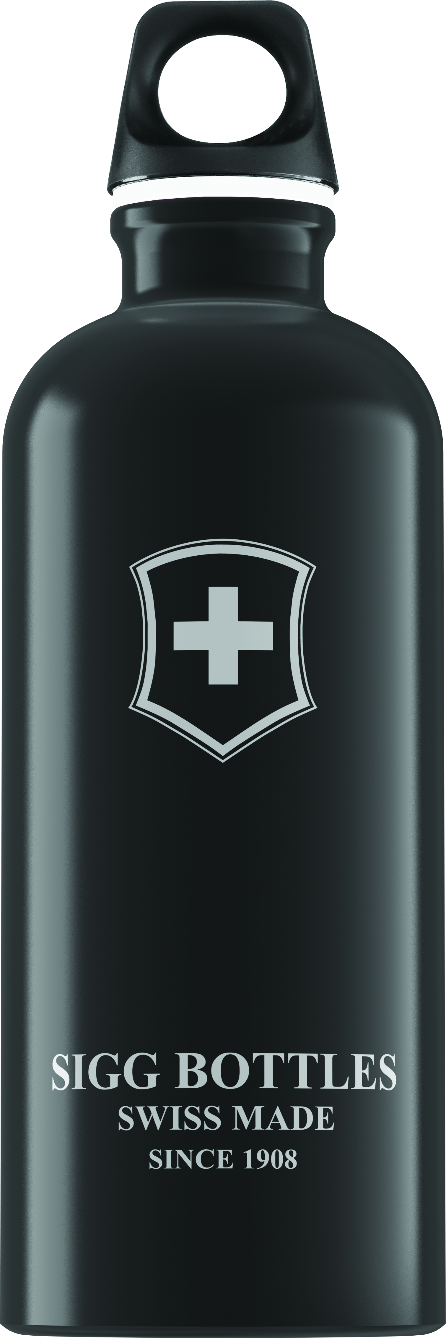 Lahev SIGG Swiss Emblem Black 0,6 l