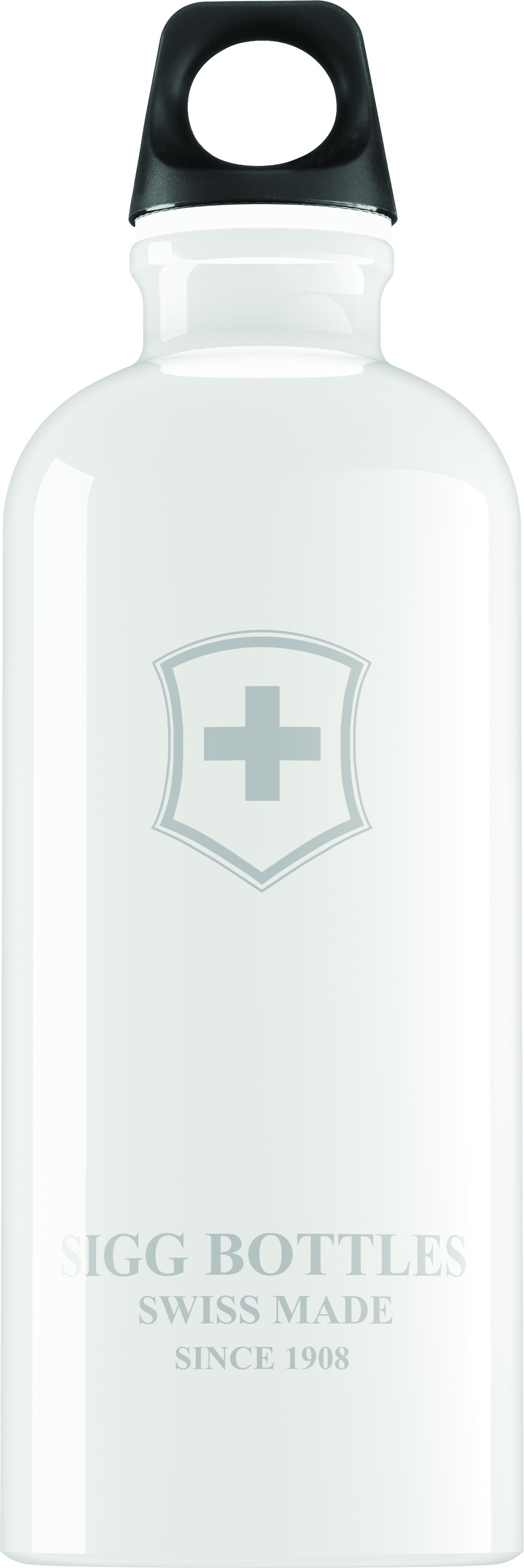 Lahev SIGG Swiss Emblem White 0,6 l