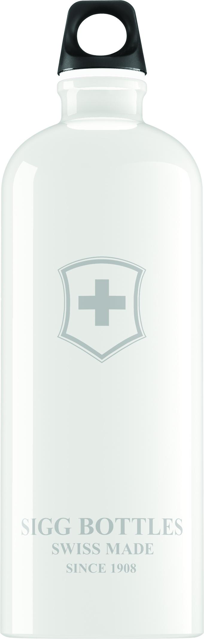 Lahev SIGG Swiss Emblem White 1 l