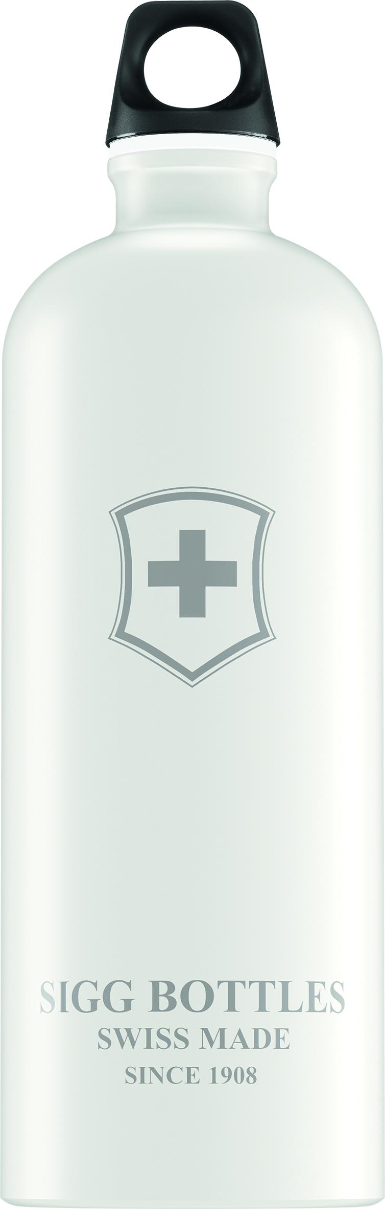 Lahev SIGG Swiss Emblem White Touch 1 l