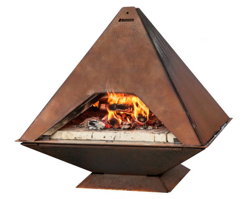 Venkovní krby a grily Aduro Prizma - pizza pec, venkovní krb
