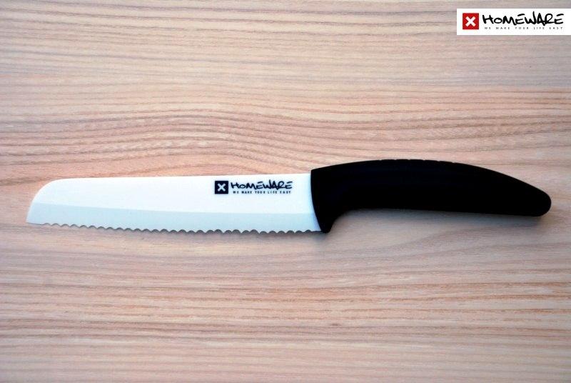 Keramický nůž Homeware na pečivo 15,24cm