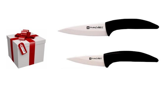 "Sada keramických nožů Homeware 2 ks, 3"" + 4''"