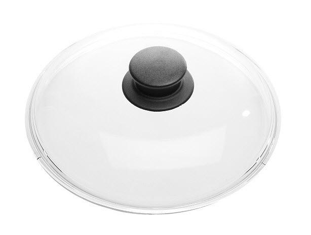 Skleněná poklice Ballarini s plastovým hmatníkem 32 cm