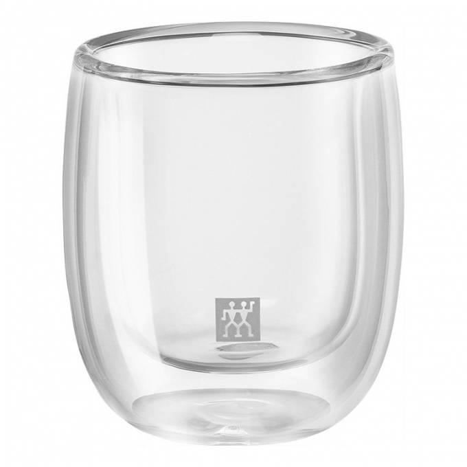 Zwilling Sorrento dvoustěnná sklenice na espresso, 80 ml, 2 ks