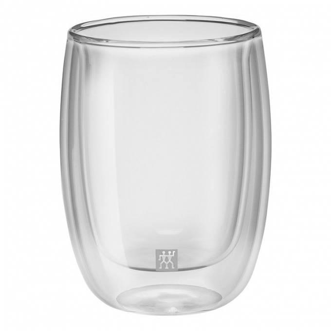 Zwilling Sorrento dvoustěnná sklenice na kávu, 200 ml, 2 ks