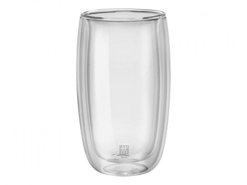 Zwilling Sorrento dvoustěnná sklenice na latte-macchiato, 350 ml, 2 ks