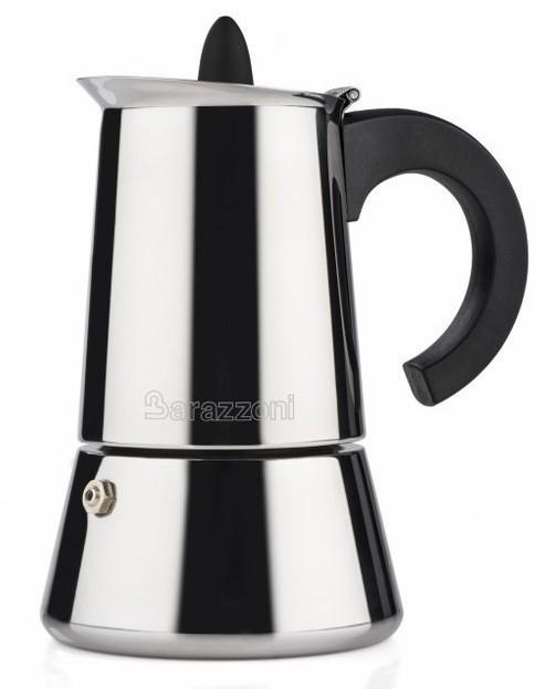 BARAZZONI moka kávovar nerezový 4 šálky