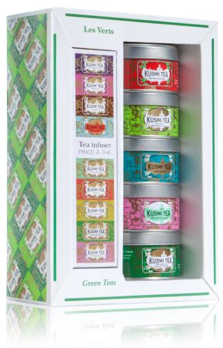 Kusmi Tea Green Teas gift pack