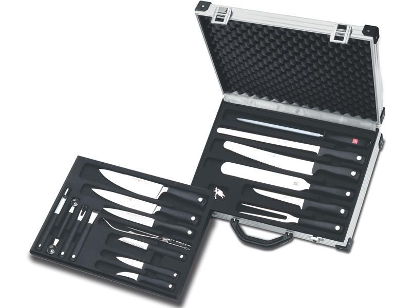 Wüsthof GRAND PRIX II Kuchařský kufřík s vybavením - 19 dílů